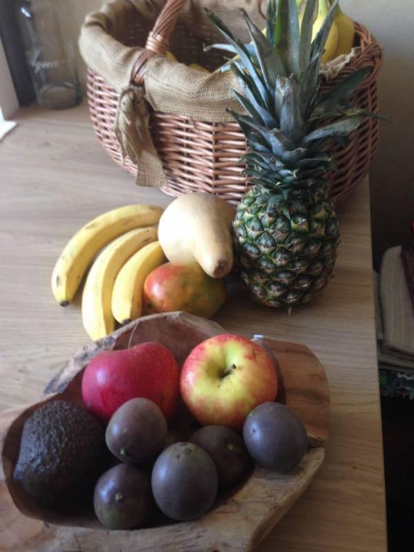fruit op tafel
