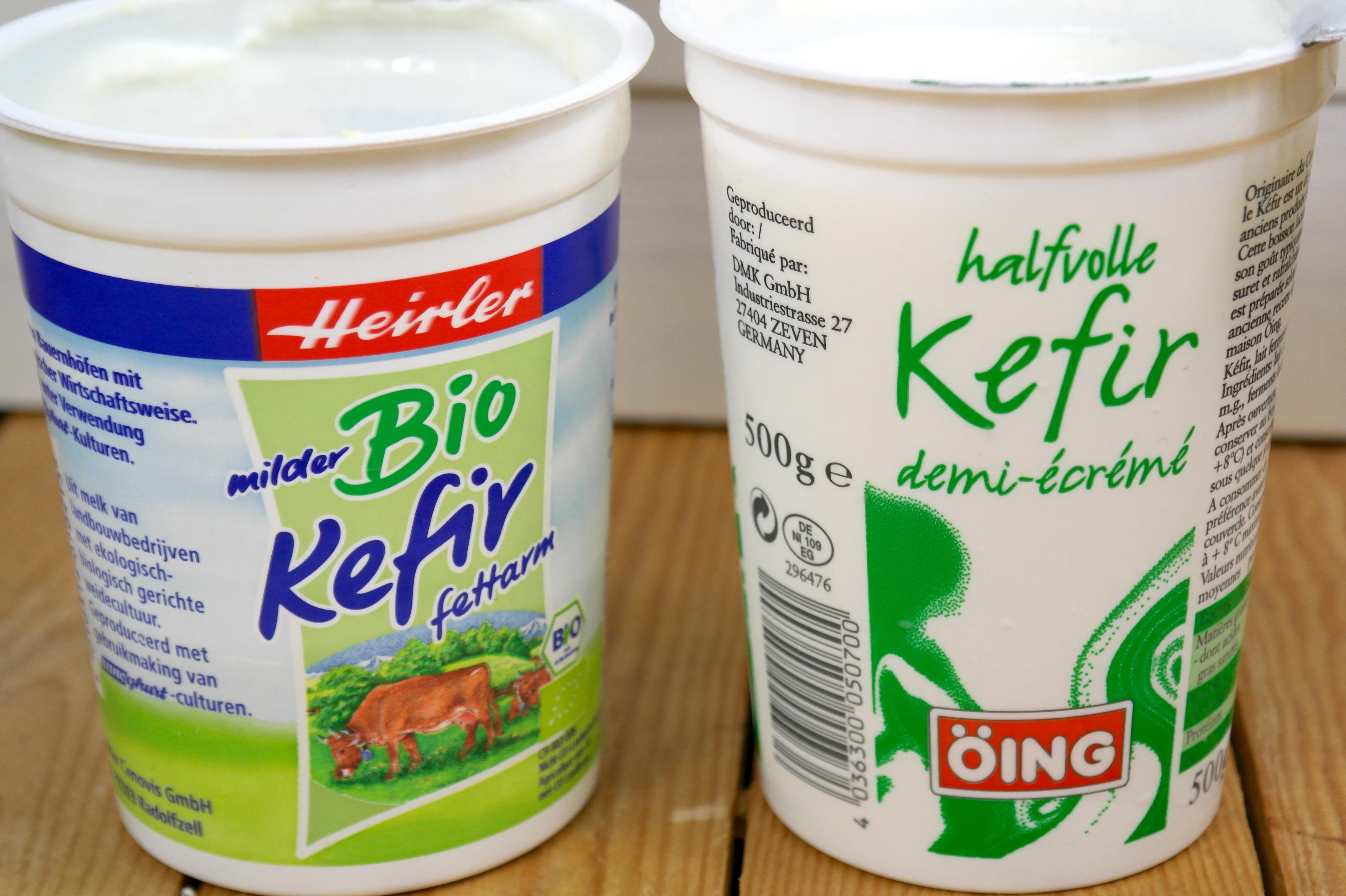 Kefir kopen in supermarkt