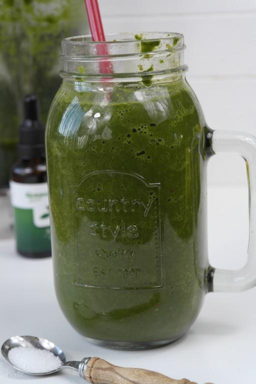 green smoothie 1