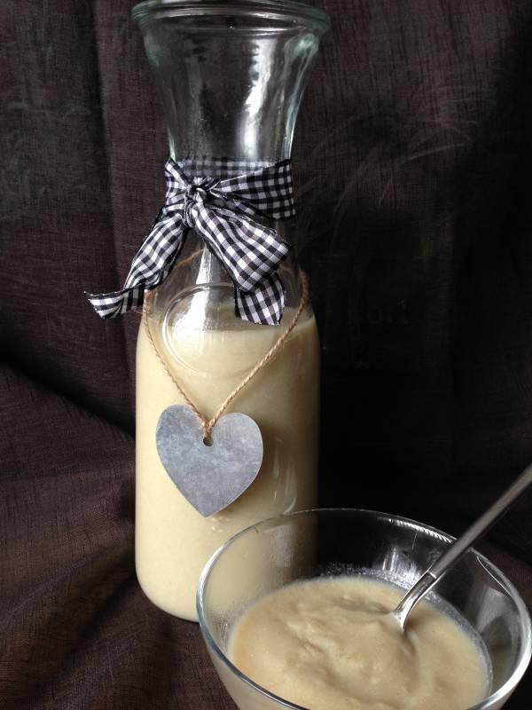 Quinoa:vanille yoghurt fles