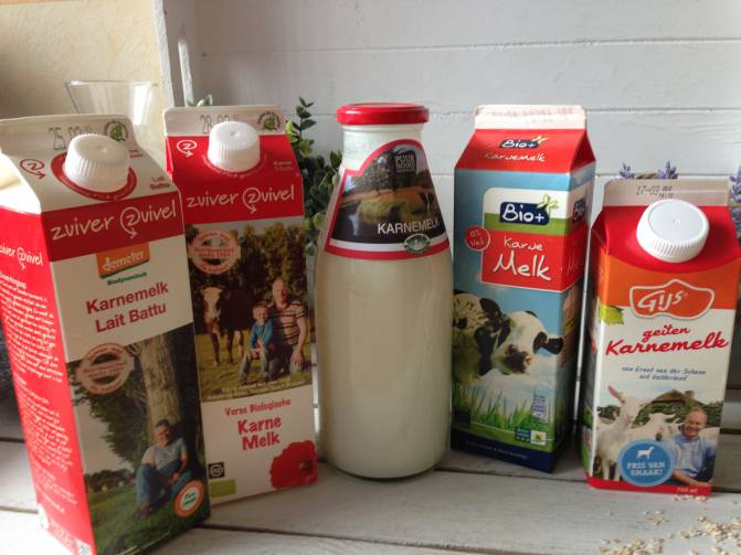is karnemelk lactosevrij