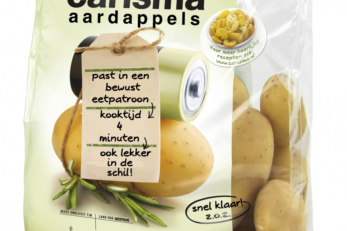koolhydraten gekookte aardappelen
