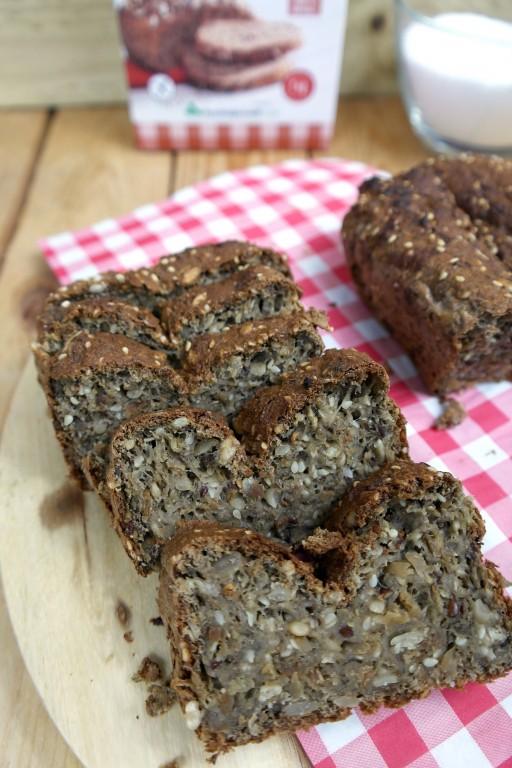 sukrin chia:hennepzaadbrood 2