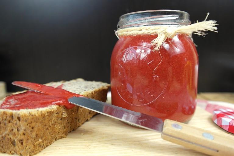 sukrin aardbeienjam 1