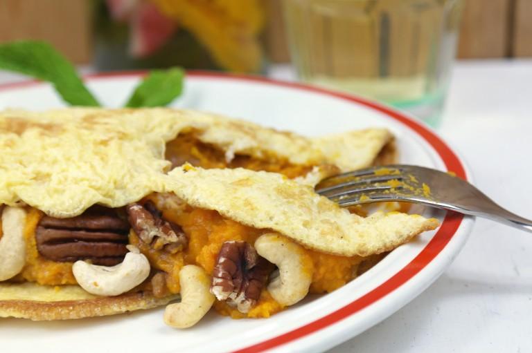 fm sweet pumpkin omelet 1