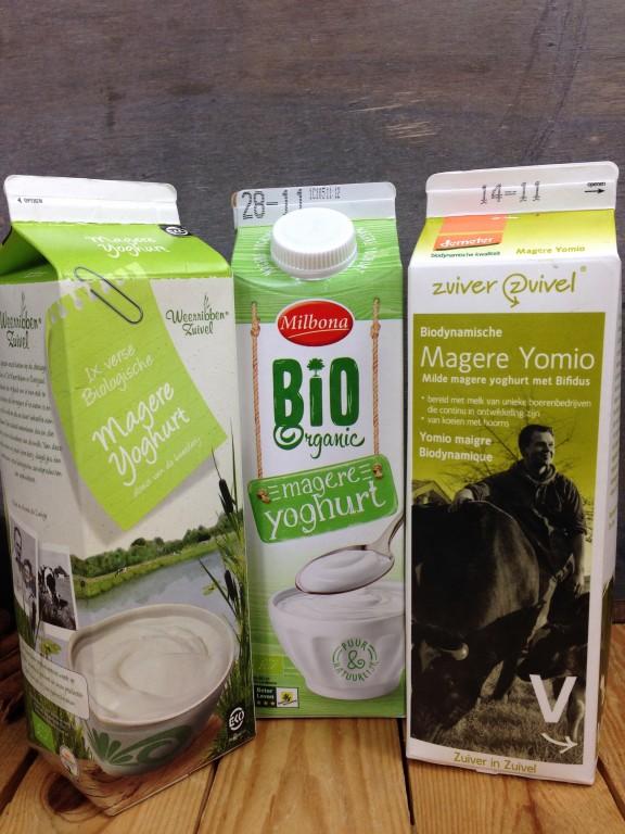 hoeveel yoghurt per dag