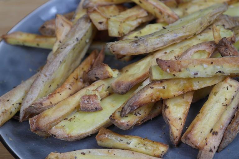 fryer patat met zeezout 1