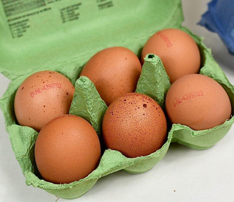 verse eieren direct eten